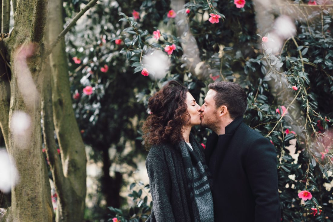Peckham engagement shoot in winter